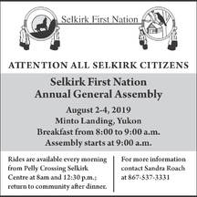 © Selkirk First Nation 2019